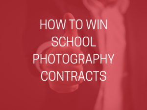 how to win photography contracts title over the top of a man in a suit with his thumb up